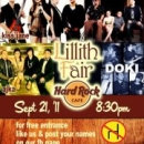 LILLITH FAIR LIVE AT THE HARD ROCK CAFE